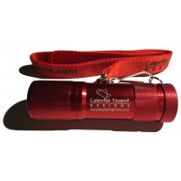 Deluxe Red LED Flashlight